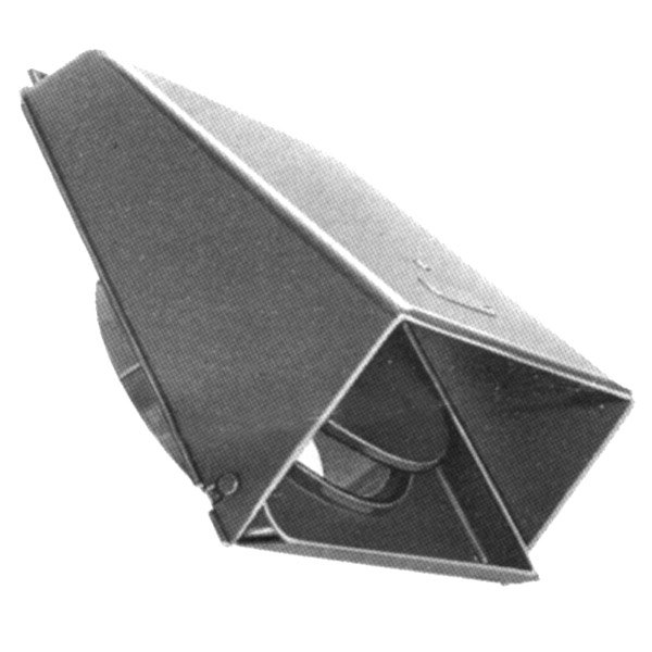 Gray Plastic Wall Cap w/ Damper